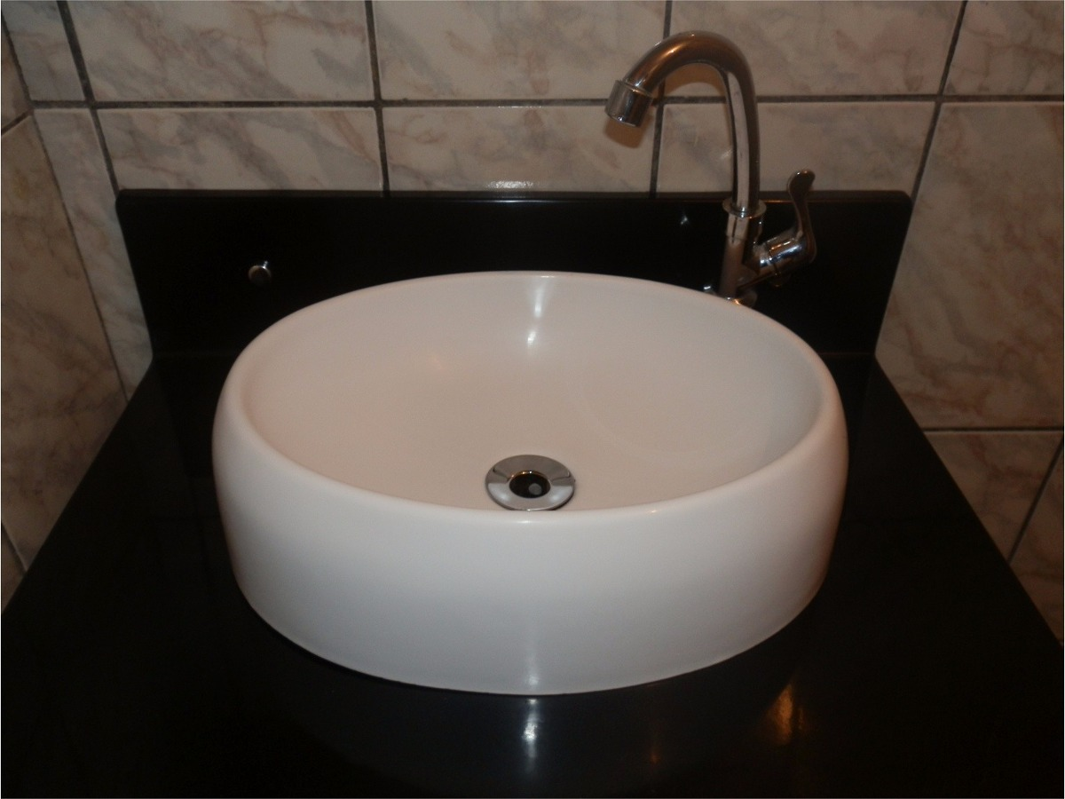 Cuba De Sobrepor  Oval Para Banheiro  R$ 129,99 em Mercado Livre -> Cuba Para Banheiro De Sobrepor Oval Branca Icasa