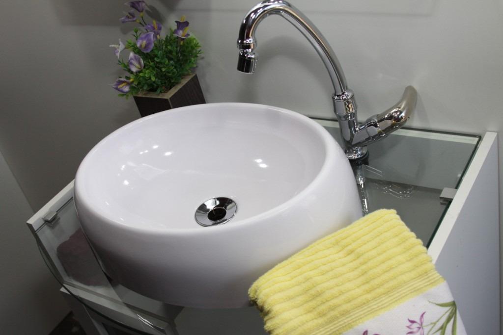 Cuba De Sobrepor Para Banheiro Oval  R$ 109,60 em Mercado Livre -> Cuba De Banheiro Sobrepor