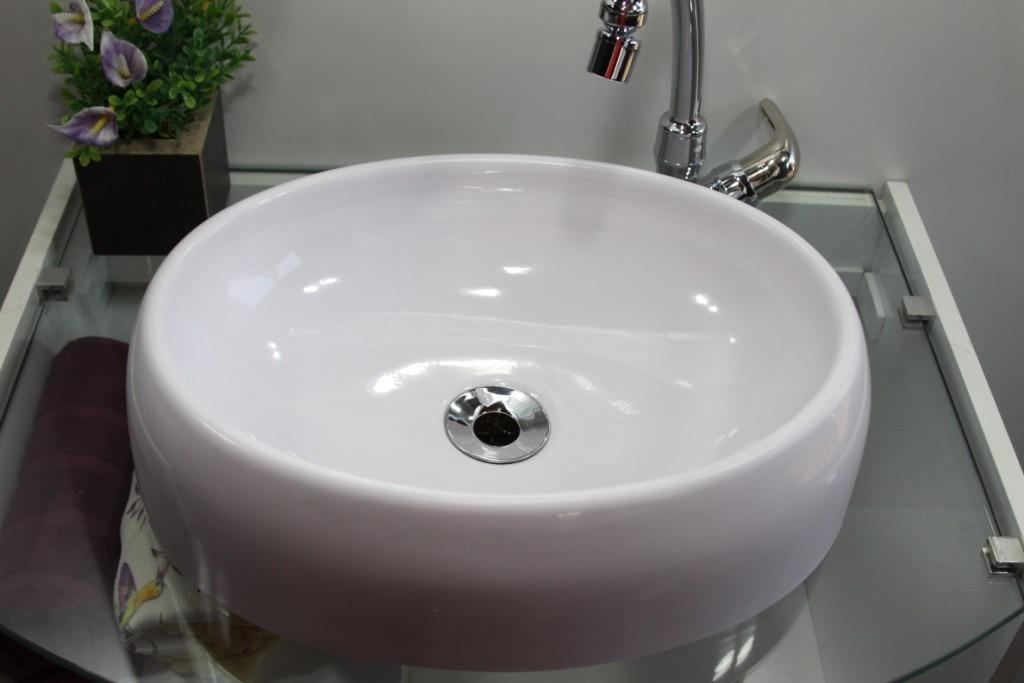 Cuba De Sobrepor Para Banheiro Oval  R$ 109,60 em Mercado Livre -> Cuba Para Banheiro Deca Oval