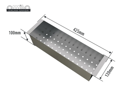 cuba dupla inox quadrada com escorredor e válvula 800 x 400