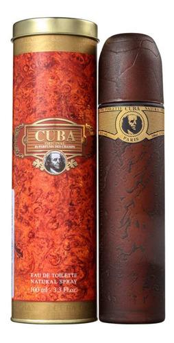 cuba gold men edt - perfume masculino 100ml blz