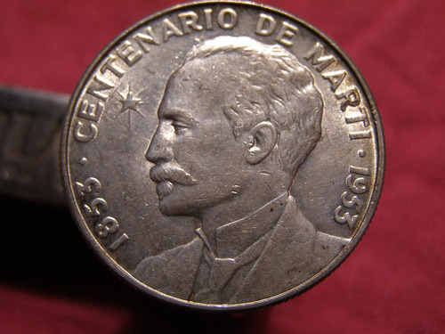 cuba moneda de plata impecable