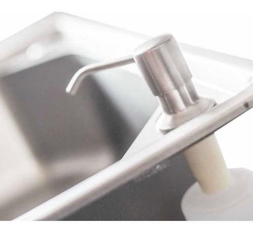 cuba pia gourmet luxo prizi aço inox 304 43x57cm kit complet