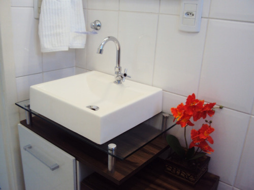 Cuba Pia Sobrepor Tendência Lavatório Para Banheiro E Lavabo  R$ 79,90 em Me # Jogo De Cuba Para Banheiro