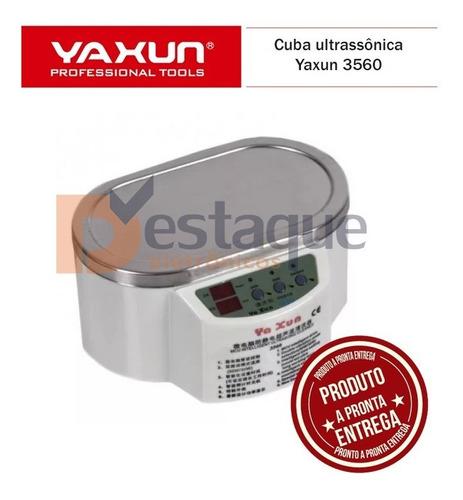cuba ultrasonica limpeza yaxun 3560 - banheira 110v ou 220v