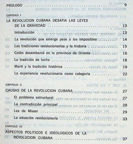 cuba y el che política y sociedad mauricio lebedinsky