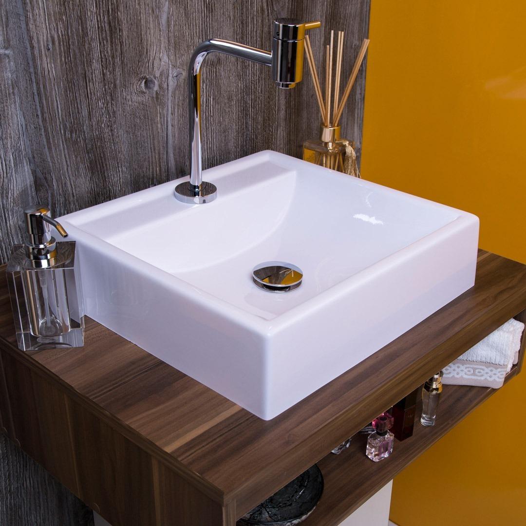 Cubapia Apoio Sobrepor Para Banheiro Ravena Frete Gratis