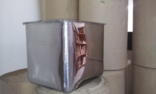 cubas de aço inox 304 industrial 50x40x45