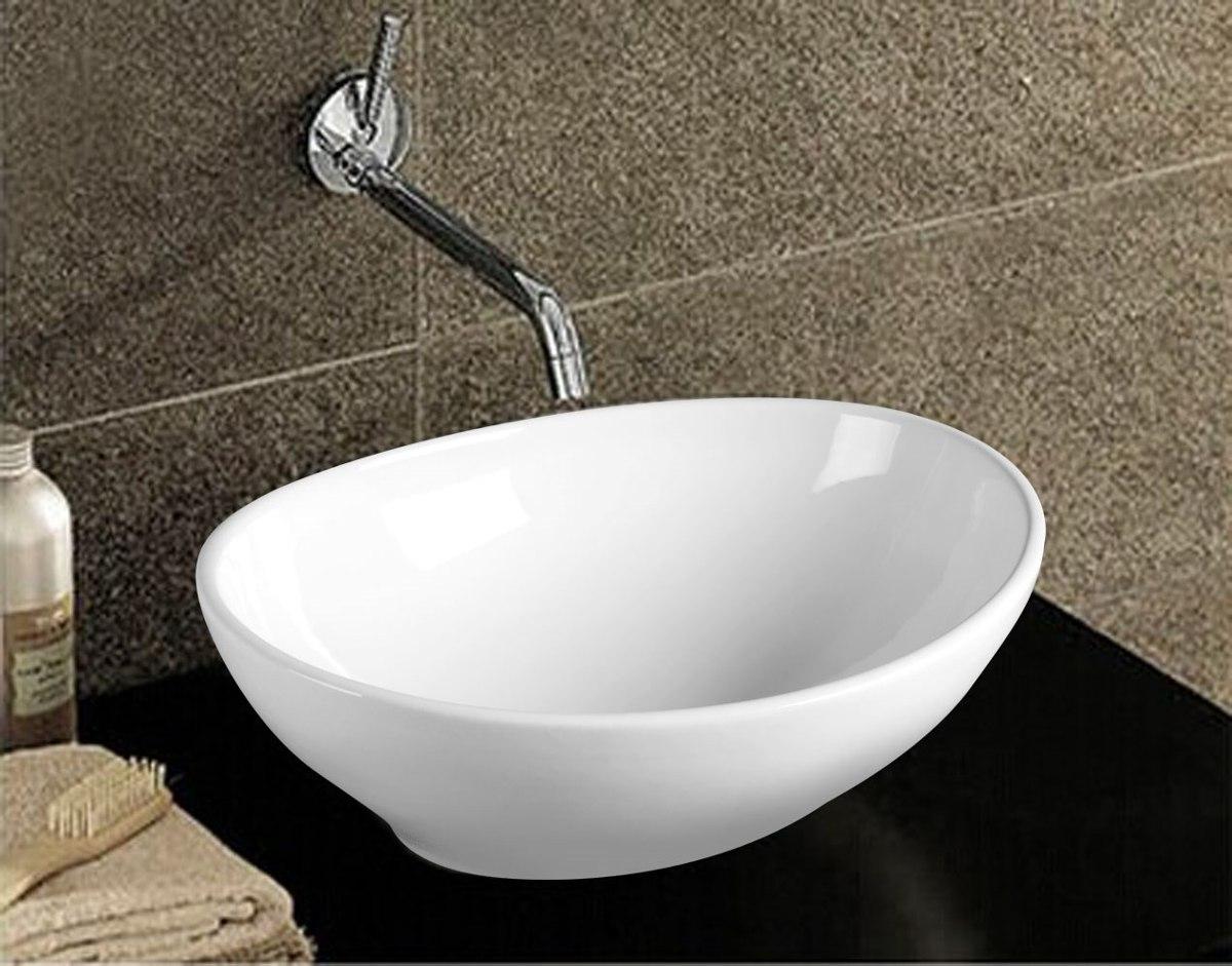 Cubas De Sobrepor Para Banheiro Ou Lavabo Estilo Deca  R$ 210,00 em Mercado  -> Cuba Para Banheiro Redonda Ou Quadrada