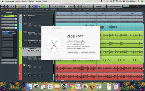 cubase 8 para mac + plugins waves