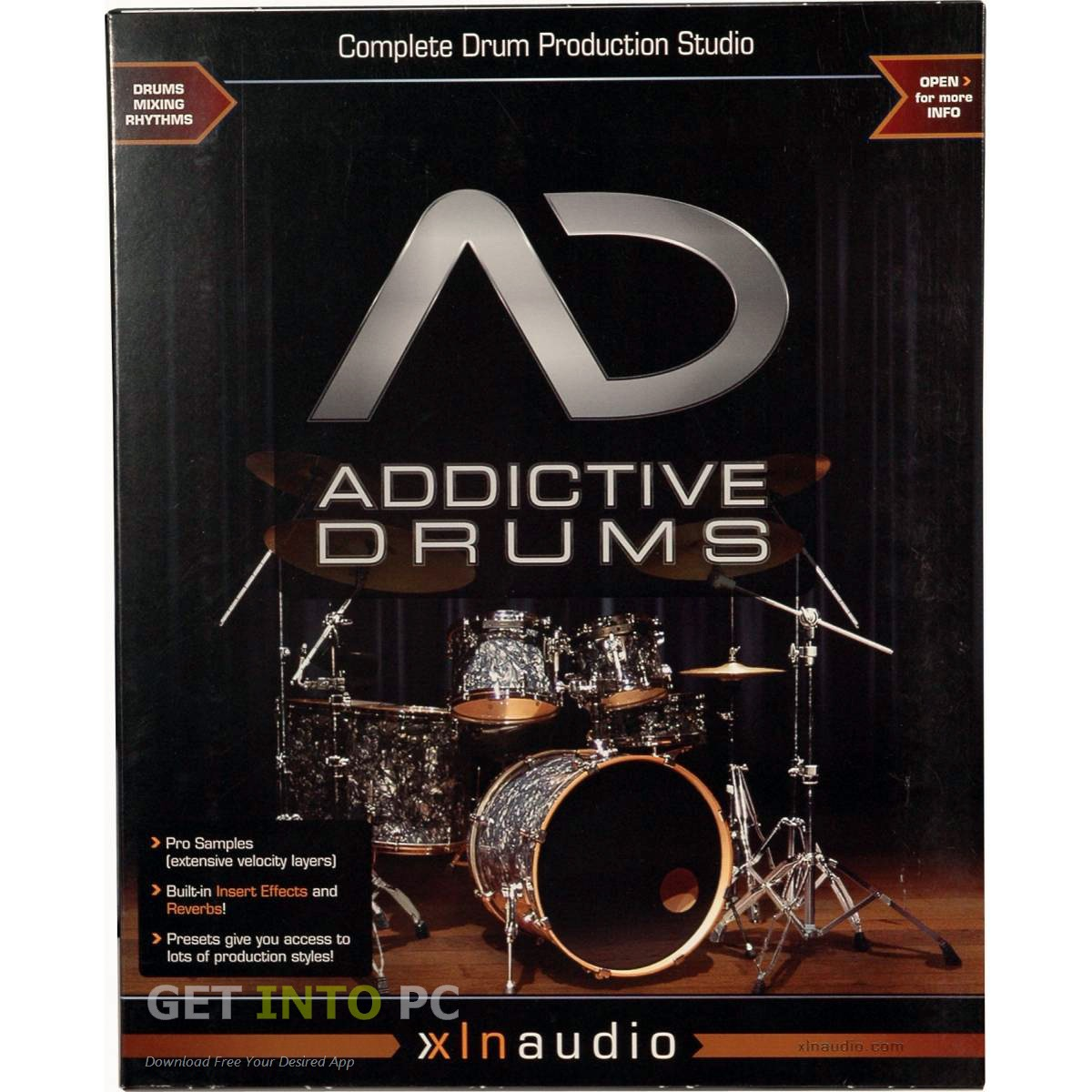 cubase 9 addictive drums 2 pc inmediato en mercado libre. Black Bedroom Furniture Sets. Home Design Ideas