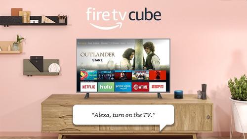 cube fire tv amazon alexa 4k
