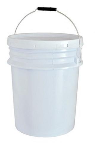 cubeta con tapa sellafacil capacidad 19 litros 15 piezas