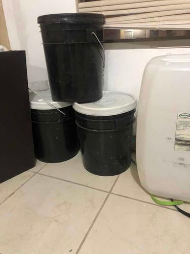 cubeta de 20 litros de gel antibacterial