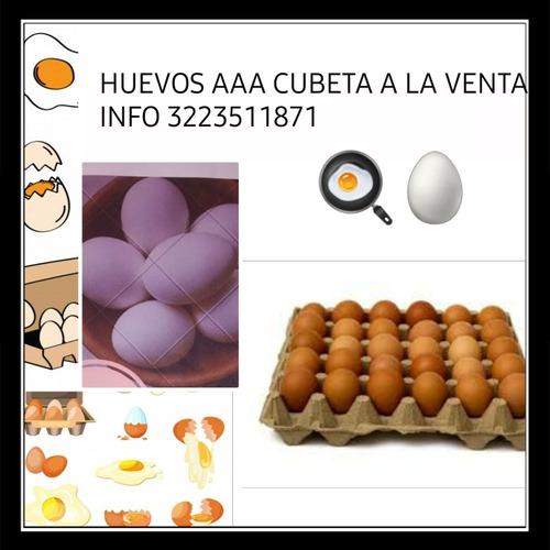 cubeta de huevos triple a