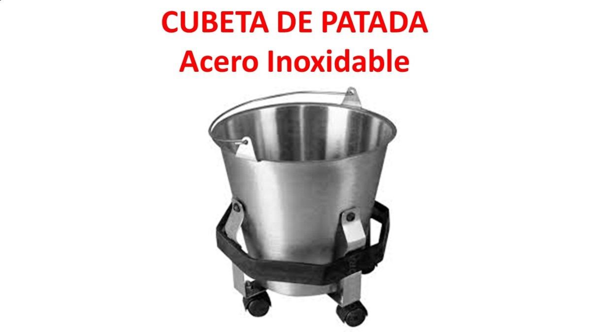 Cubeta de patada acero inoxidable 1 en mercado for Cubetas de acero inoxidable