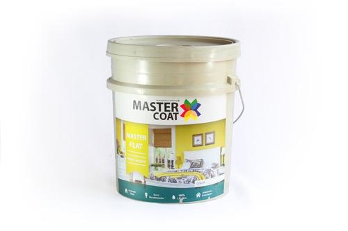 cubeta de pintura vinilica lavable 19lt flat mejor que comex