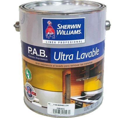 Cubeta pab esmalte alquid lico sherwin williams 2 850 - Precio pintura exterior ...