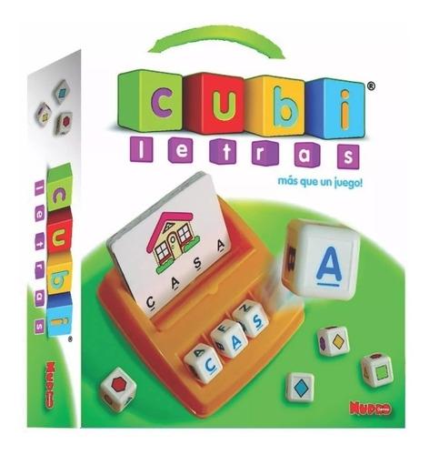 cubi letras de nupro juego didactico aprende a leer