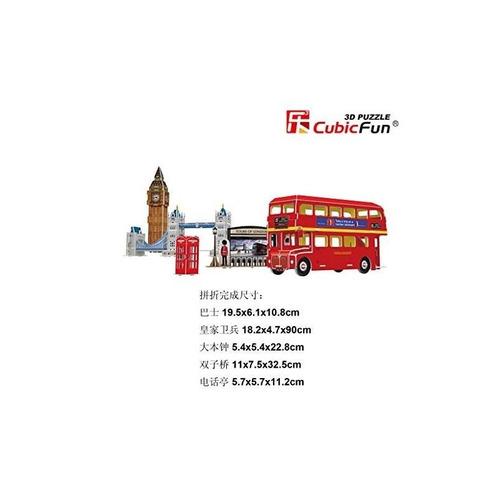 cubicfun 3d puzzle c-series tour en londres - cinco rompecab