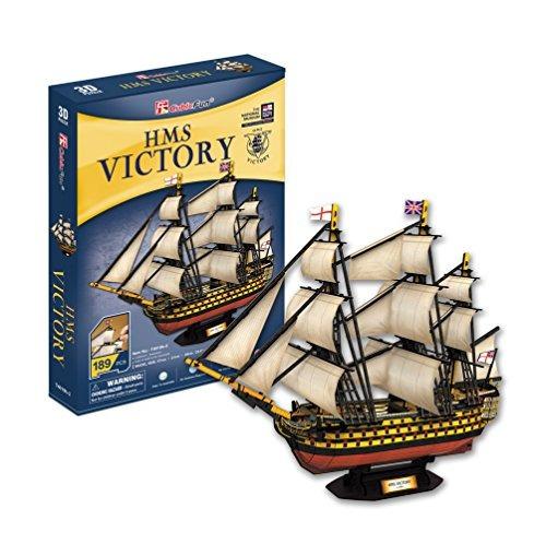 cubicfun t4019h hms victory barco puzzle