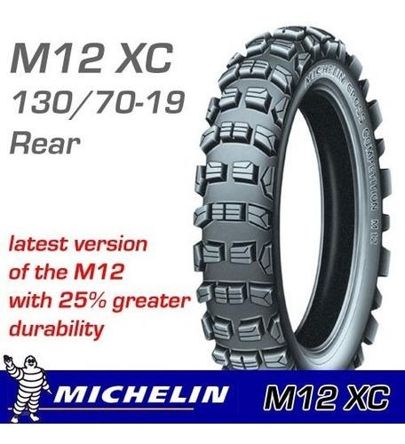 cubierta 130-70-19 michelin m12 xc  crf 450 , kxf 450 , yzf 450 , rmz 450