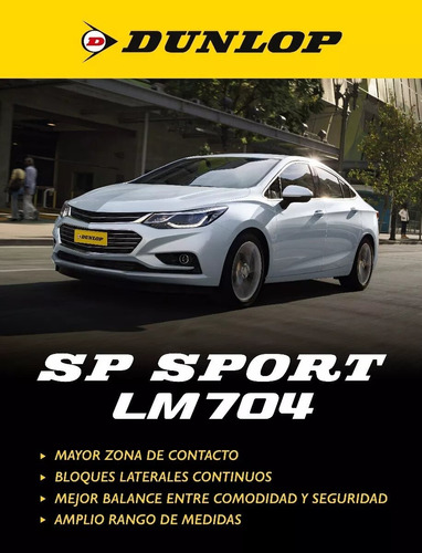 cubierta 205/70r14 (94h) dunlop sport lm704