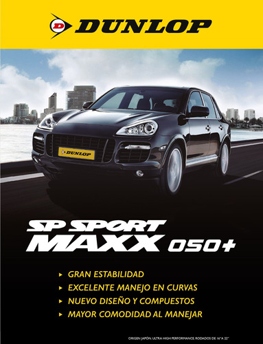 cubierta 225/50r17 (98y) dunlop sp sport maxx 050+