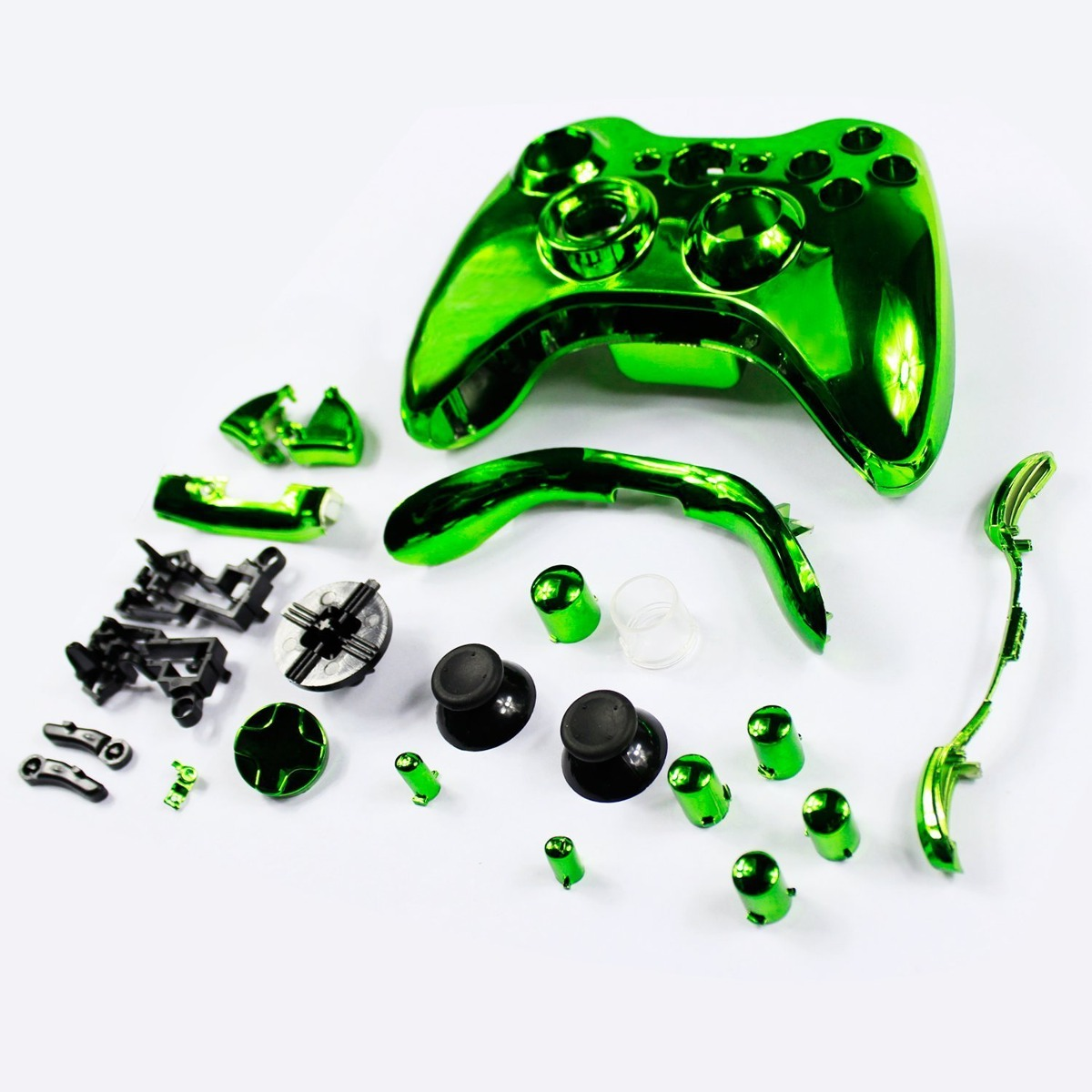 Cubierta Abcgoodefg Control Xbox 360 Verde - $ 109.400 en Mercado ...