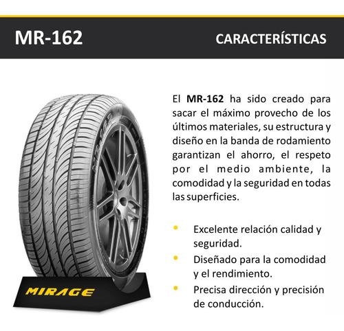 cubierta auto mirage mr-162 185/65 hr 15