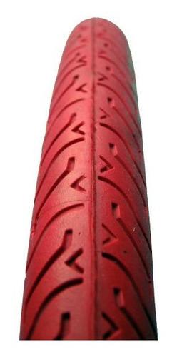 cubierta bicicleta imperial 28 x1 5/8 x 1/8 carrera roja - racer bikes