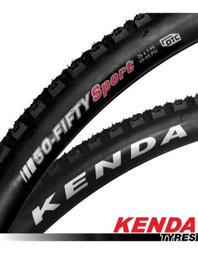 cubierta bicicleta rodado 26 1,95 kenda 50-fifty combo de 2