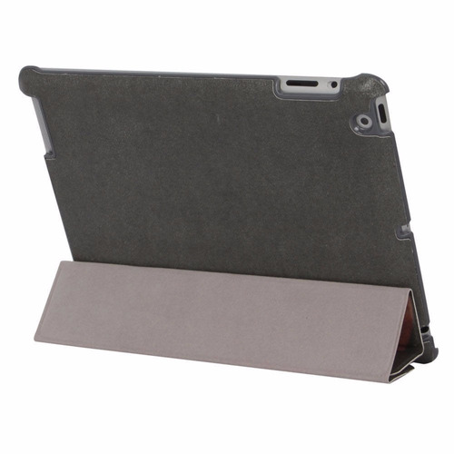 cubierta case auto sleep-wake foldable stand para ipad 2
