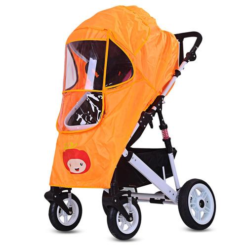 cubierta de cochecito de bebé anti-lluvia-viento