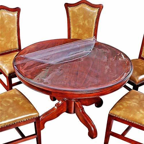 cubierta de la mesa redonda sofá de la cabecera cama al lado
