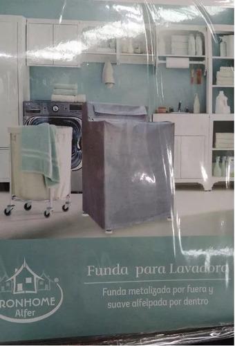 cubierta de lavadora metalizada afelpada ! envío gratis !