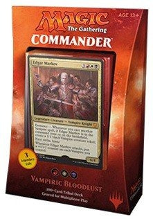 cubierta de magic the gathering mtg commander 2017 - vampir
