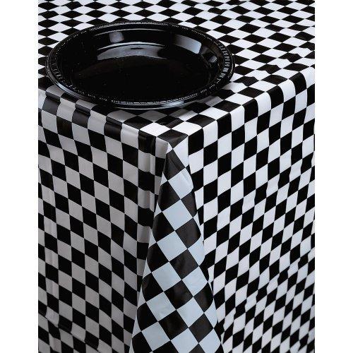 cubierta de tabla plástica creativa del banquete de