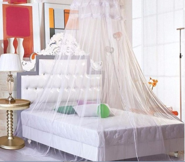 Cubierta de tela mosquitera para cama redisa - Mosquitera para cama ...