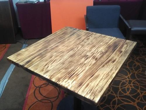 cubierta en madera maciza de pino