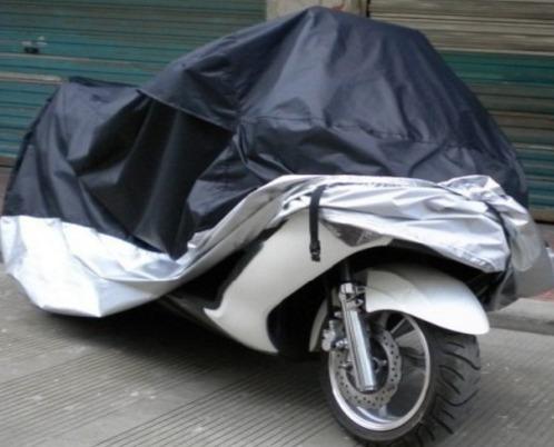 cubierta funda l impermeable motoneta italika gsc con maleta