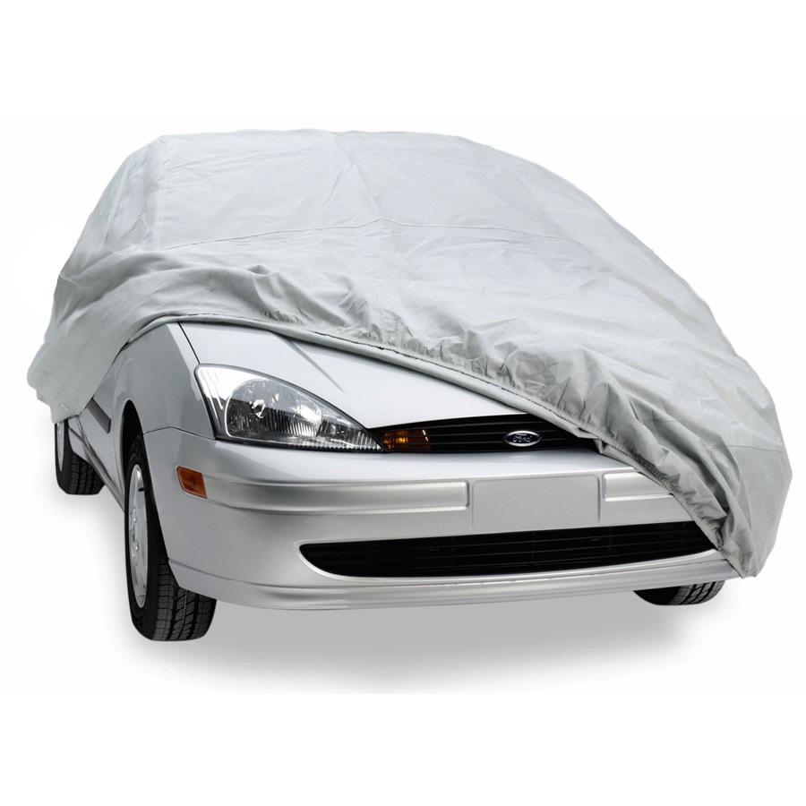 Cubierta funda lona cubre auto cover tama o mediano y chico en mercado libre - Fundas para auto ...