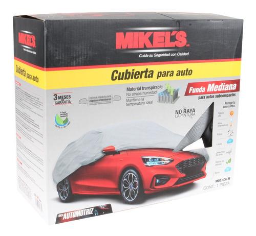 cubierta funda para auto mediano mikels
