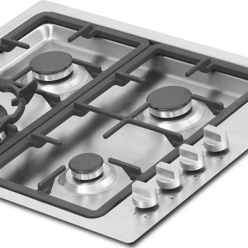 cubierta kitchen gourmet 61cm 4 puestos challenger si6960