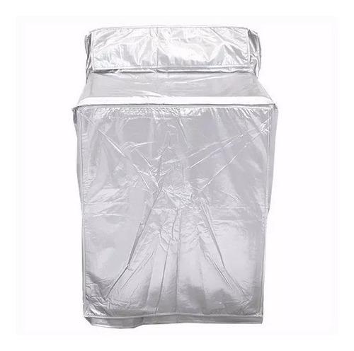 cubierta lavadora secadora metalizada afelpada envío gratis