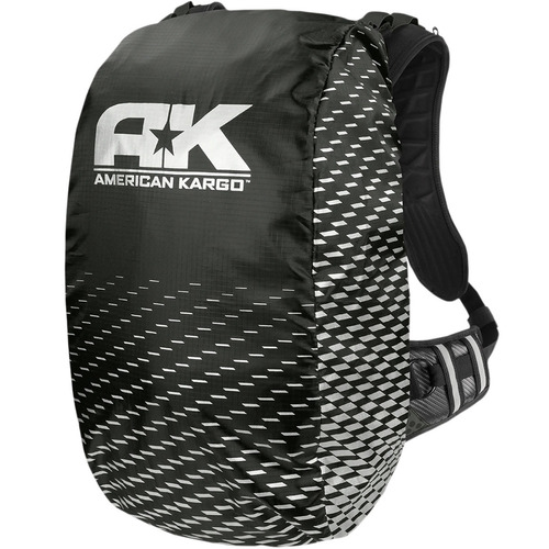cubierta lluvia p/mochila american kargo trooper negro