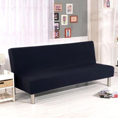 cubierta maciza sofá cama plegable sin brazos tela elástico