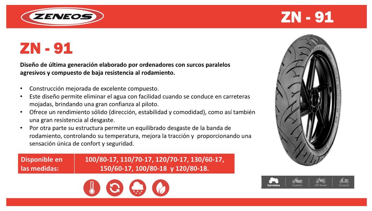 Zeneos Zn 91 10080 18 Tubeless Ban Motor Free Pentil 75 70 80 17 62 Pada Honda Cb150r Source Cargando Zoom