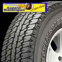 cubierta neumatico firestone 235 75r 15 gomeria blandengues