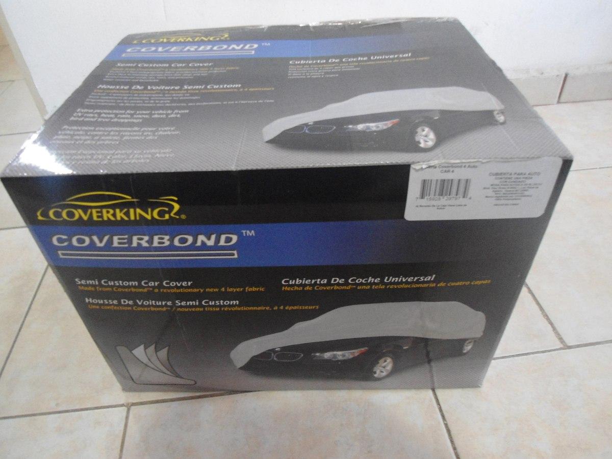 Cubierta Para Auto Coverbond Car2 Con Cable Y Candado